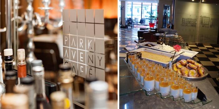 Brunch på Park Aveny Café.