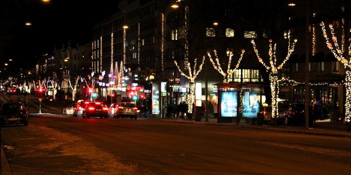 Ljus i Julstaden.