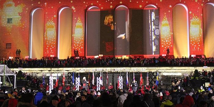 Invigning av Julstaden
