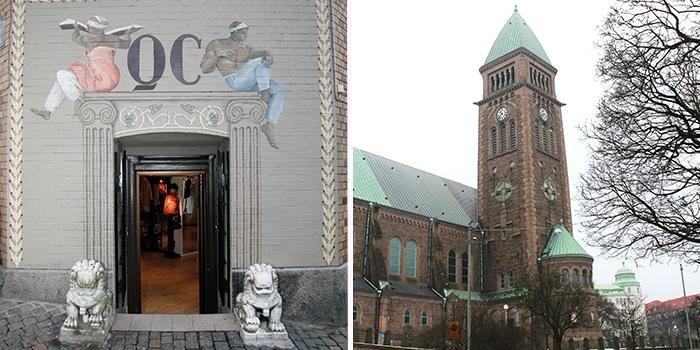 qc corner, vasa kyrkan