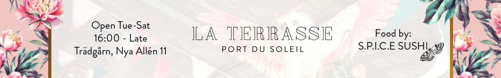 La Terasse – banner