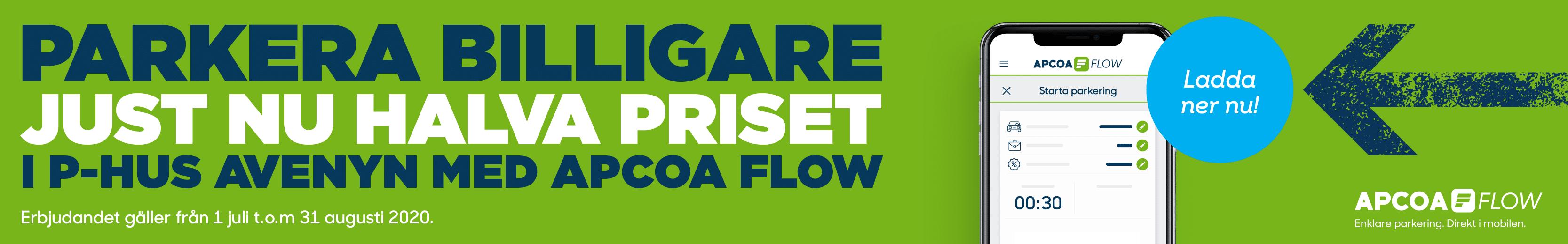 Apcoa Flow sommarerbjudande